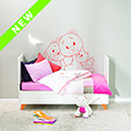 ApplePie Design Wall Sticker Collection Theme Iris & Babette