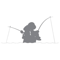 ApplePie Design Product Image Bill & Bono Fishing Shadow