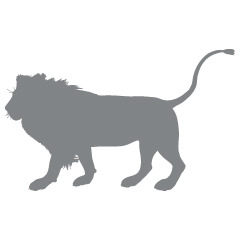 ApplePie Design Product Image Standing Lion