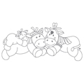 ApplePie Design Kaya & Pinto Wall Decals Stickers