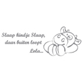 ApplePie Design Nouky, Paco & Lola Wall Decals Stickers